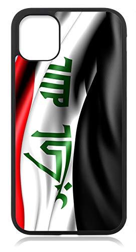 Kompatibel mit iPhone 11 Hülle Silikon Handyhülle Flexibles Slim Case Schutzhülle Schwarz Irak Fahne Flagge
