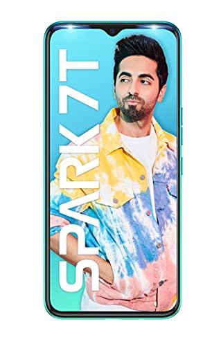 Tecno Spark 7T(Jewel Blue, 4GB RAM, 64GB Storage) 6000 mAh Battery| 48 MP AI Dual Rear Camera