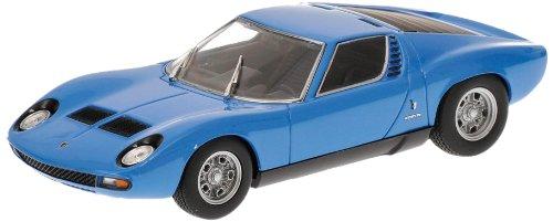 Minichamps 400103650 Modellino Auto Lamborghini Miura SV 1971 Blu Scala 1/43
