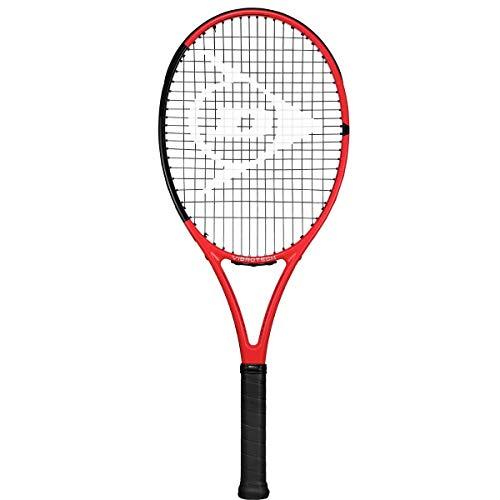 DUNLOP Tennisschläger Srixon CX Team 265, Unisex-Erwachsene, Tennisschläger, Srixon CX Team 265 Tennis Racquet, rot / schwarz, 4 1/8
