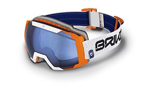 Briko Skibrille Caldera Unisex, Orange, Einheitsgröße
