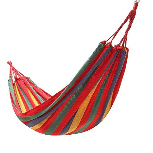 Hängematten für Einzelpersonen zum Aufhängen, für den Garten, Camping, Schaukelstuhl, Bett, Hängematte für den...