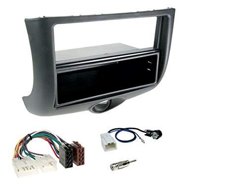 NIQ Autoradio Einbauset/Komplettset geeignet für Toyota Yaris (P1) Bj. 1999-2003