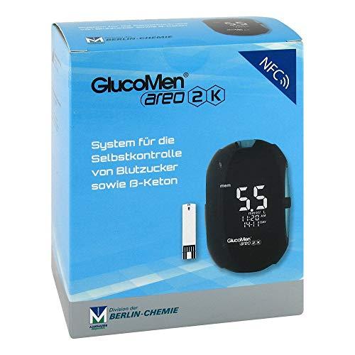 GlucoMen areo 2K Blutzucker- und �-Ketonmessger�t mmol/L, 1