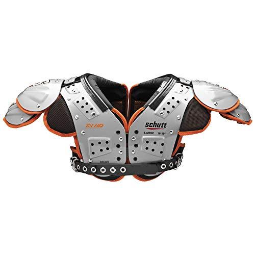 Schutt Sports Varsity XV HD QB/WR Shoulder Pad, X-Large