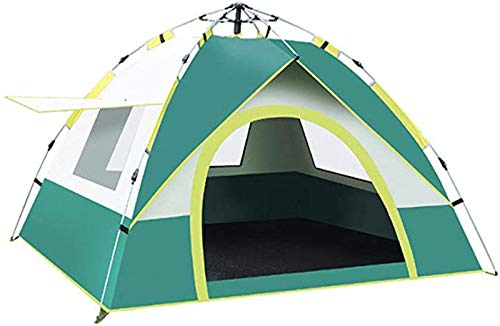 GPWDSN Camping Tent, Pop Up Tent, One-touch Roomy Tent for 2 Person Outdoor Hiking Climbing Travel, All-round Protection Tent Automatic Tent Waterproof Windproof