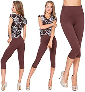 WOMEN LADIES GIRLS PREMIUM STRETCHY LEOPARD PANEL LONG LEGGINGS SIZE 8-22