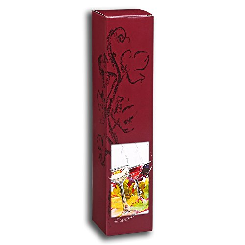 50x 1er Wein- und Geschenkkarton, Präsentkarton