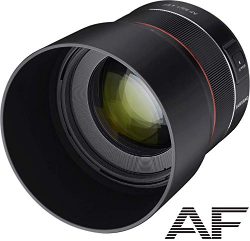 Samyang SA7071 - Objetivo AF 85 mm F1.4 para Canon EF