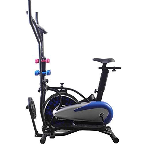 Hometrainers Christopeit Ergometer Multifunctionele Spinningfiets Stille Fitness Stepper Voor Binnen Fitnessapparatuur Voor Thuis (Color : Black+Blue, Size : 95 * 22.5 * 68cm)