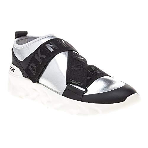DKNY Clara Damen Sneaker Silber 38 EU