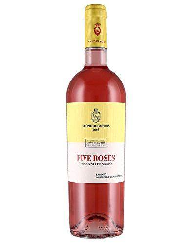 Salento Rosato IGT Five Roses Anniversario Leone de Castris 2020 0,75 L