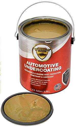 woolwax Auto/Truck Lanolin Undercoating 1 Gallon Pail. Straw (Clear) Color.