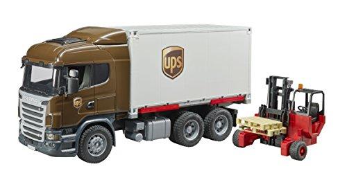 Bruder 3581 Scania R-Serie UPS Logistik - LKW