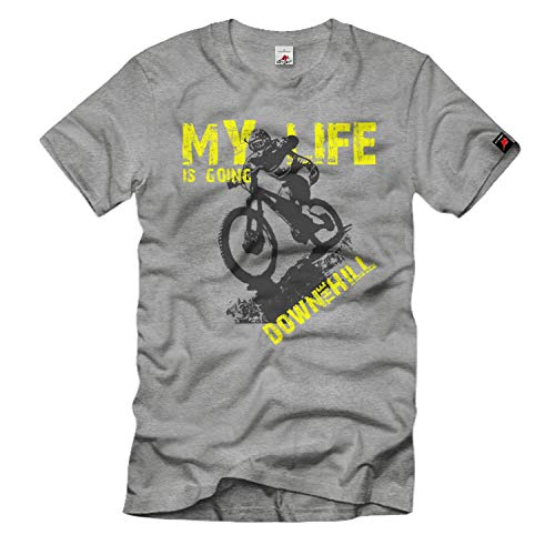My Life is Going Downhill wielersport MTB Hürtgenwald mountainbike T-shirt # 33858