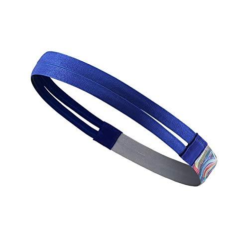 OSJDFD Sport Jogging Fitness Workout Yoga Schweißband Radfahren Stirnband Gym Kopftuch Tennis-Haar-Band VBG-01