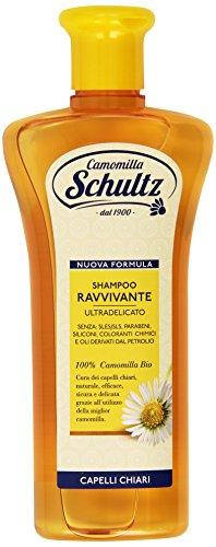 Schultz - Shampoo Ravvivante, Ultra delicato, 100% Camomilla Bio - 250 ml