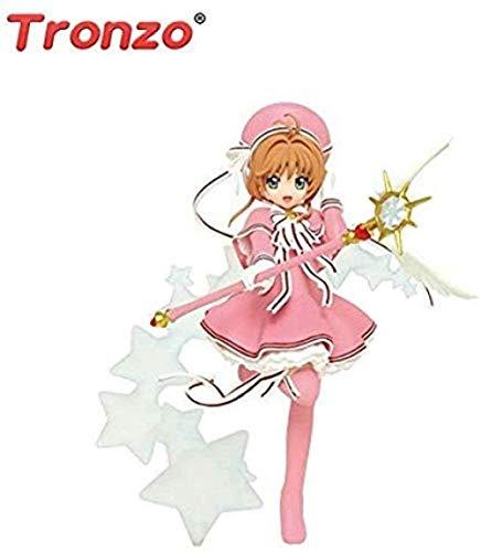XFHJDM-WJ Tronzo Original TAITO Figura de acción Anime Tarjeta Sensor Figura Kinomoto Infancia PVC Figura Modelo Muñeca JugueteRegalo de cumpleaños SKH3172
