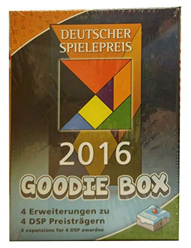 Frosted Games FRG00006 Kartenspiel Deutscher Spielepreis 2016-Goodie Box