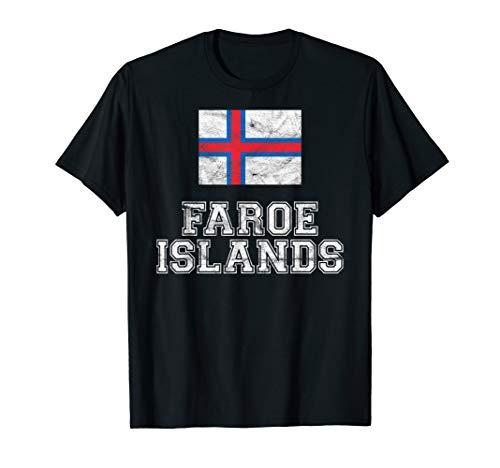 Faroe Islands Flagge Färöer Insel Männer Frauen Kinder Shirt
