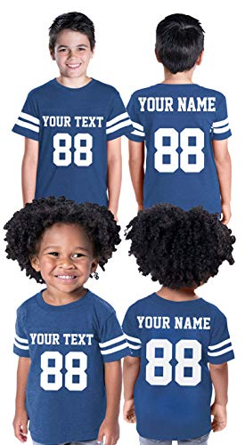 Custom Cotton Toddler Youth Jersey - Personalize Your 2 Sided Team Uniform
