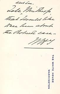 william taft autograph