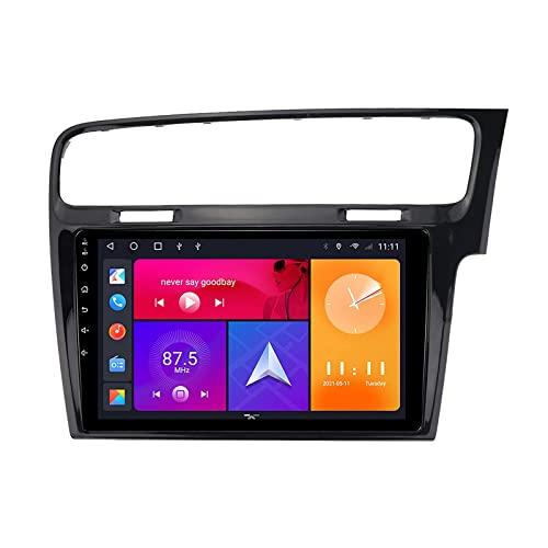Car Stereo Touch Screen Compatible with VOLKSWAGEN Accessories for (2013-2016)GOLF 7 Autoradio Bluetooth, con supporto HD Touch Screen/Controllo del volante/GPS Navigazione,8 core 4g+wifi 3g+32g