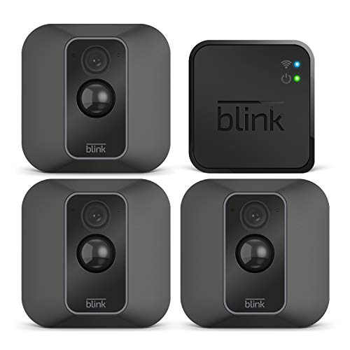 Blink XT2 | Telecamera di sicurezza per interni/esterni con archiviazione sul cloud, audio bidirezionale, autonomia di 2 anni | Sistema a 3 telecamere