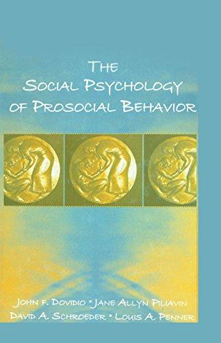 The Social Psychology of Prosocial Behavior (English Edition)