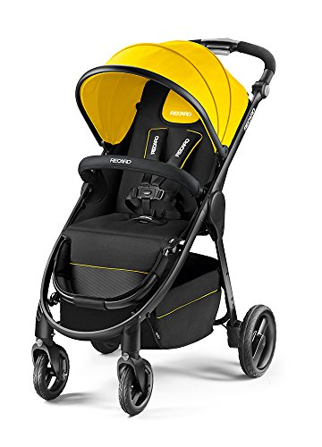 Recaro 4031953058936 Push Chairs & Prams (Strollers, Carriers), Giallo
