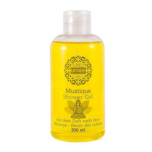 1x UMIDO Duschgel 200 ml Moringa | Waschgel für Körper, Gesicht und Haare | sanfte Pflegedusche | Körperpflege (4-KPF)