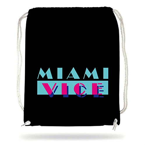 Certified Freak Miami Vice Logo Gymsack Black