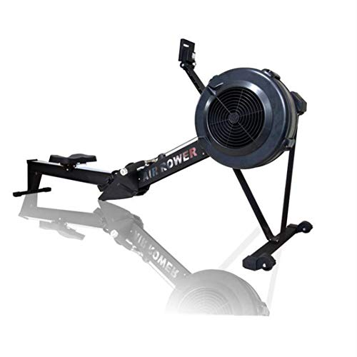 TTJZ Rowing Machine Wind Resistance Rowing Machine Cardio Fitness Equipment - Foldable with Monitor