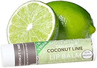Soothing Touch Lip Balm Coconut Lime, Pack of 3