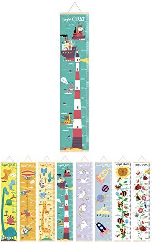 【AMS】子供身長計 壁掛け 身長測定シール 子供の成長記録 部屋の装飾 おしゃれ かわいい 出産祝い (シー)