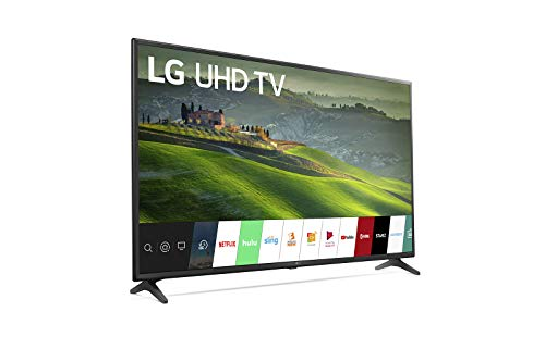 LG 43 pulgadas clase 4K HDR Smart TV LED (Renewed)