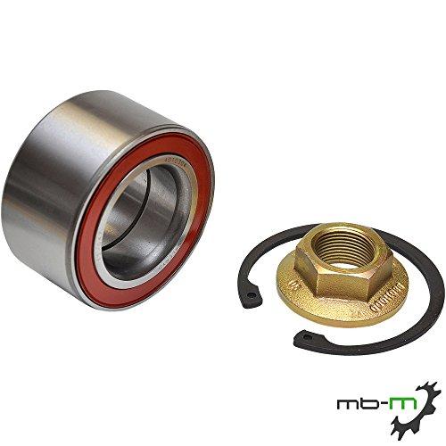 Kompakt Radlager Satz Knott BPW 34/64x37 mm 3464 inkl. Flanschmutter & Sicherungsring