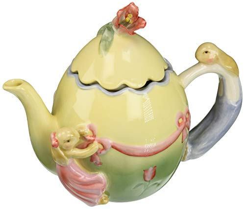 Appletree Design Barn Yard Bunny Teapot, 5-3/4-Inch