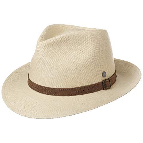 potente para casa Lierys Panama Mujer / Hombre con sombrero de paja rústico – Solman con tirantes ecuatorianos,…