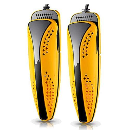 DBGS PTC elektrische verwarming elektrisch drogend draagbaar klein dual core intrekbare verwarming warme schoenen regular geel