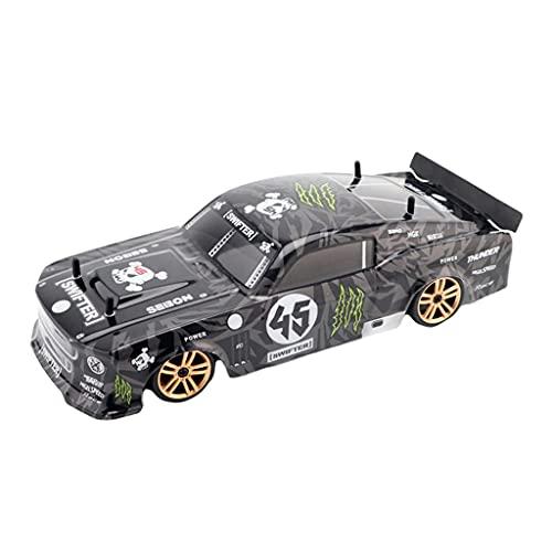 Desconocido Generic RC Sport Racing Car 1/18 Coche de Control Remoto para Adultos niños Regalos, 4WD RTR vehículo con Alta Velocidad y neumáticos de Deriva