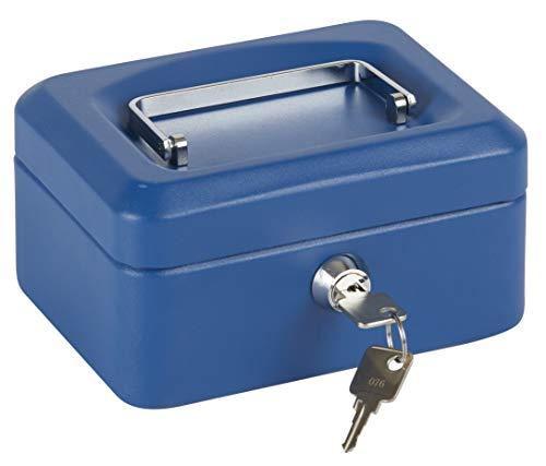 Arregui C9215 Caja De Caudales Con Bandeja, Azul, 152 X 80 X 118 Mm