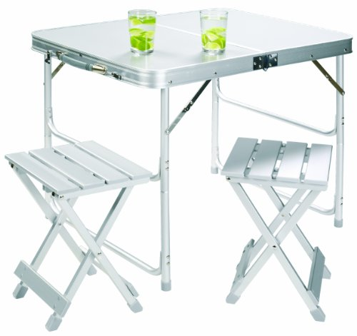 Grand Canyon Alu Foldable Table Set for 4
