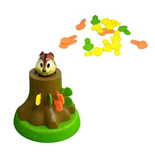 Misis Wiewiórka ruletka Pop Up zabawki nowość zabawka podręczna wiewiórka beczka gra dla dzieci wiewiórka piękna