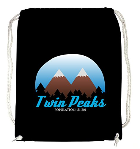 Certified Freak Twin Peaks Gymsack Black