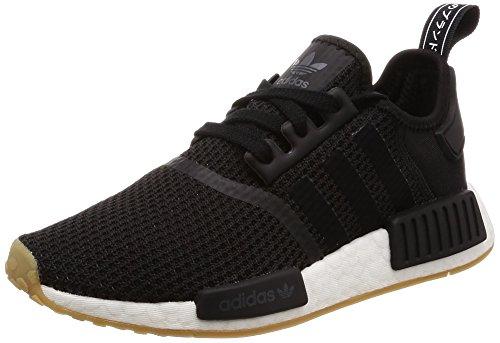 adidas Herren Originals NMD_R1 B42200 Sneaker, Mehrfarbig Black Cblack Cblack Gum3, 46 EU