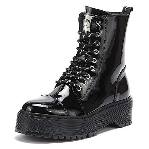 BRONX RIFKA SUPER CHUNKY Enkellaarzen/Low boots femmes Zwart Laarzen