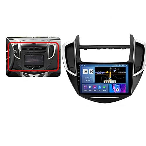 Android 10.0 Car Stereo Double DIN Radio para Chevrolet Tracker 3 2013-2020 Navegación GPS Reproductor Multimedia de 9 '' Receptor de Video Bluetooth con 4G / 5G WiFi SWC DSP USB Carplay