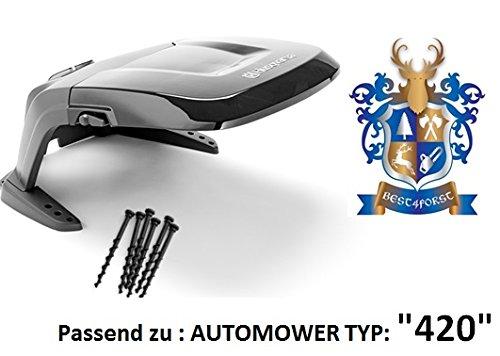 Original . Automower Abdeckung / passend zu Automower 420 / incl. Bodenschrauben