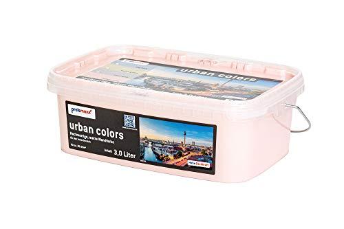 preismaxx urban colors Bunte Wandfarbe rosa twilight pink 3 Liter matt für Innen
